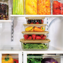 glass food storage containers meal prep