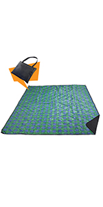 beach blanket,picnic blanket,outdoor blanket,folding blanket,tote blanket,large blanket,beach mat