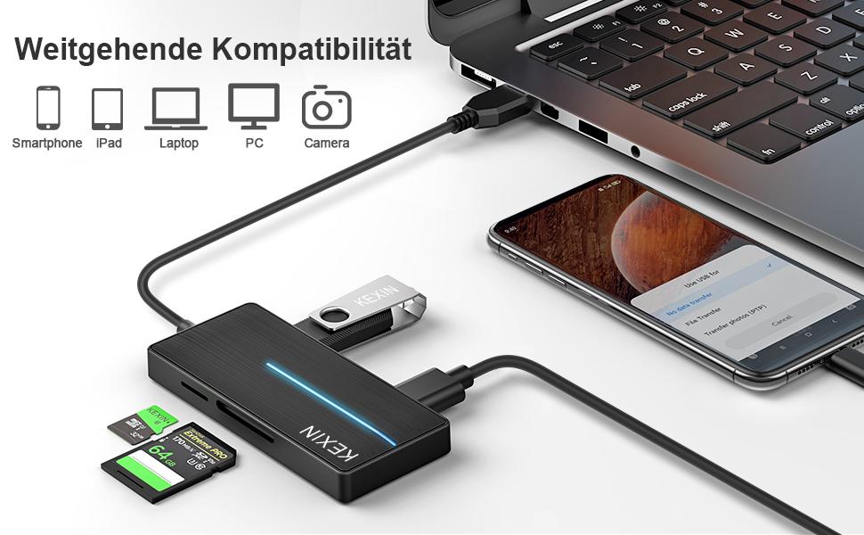 Concentrador USB C