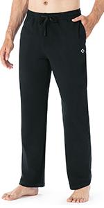 men cotton workout pants