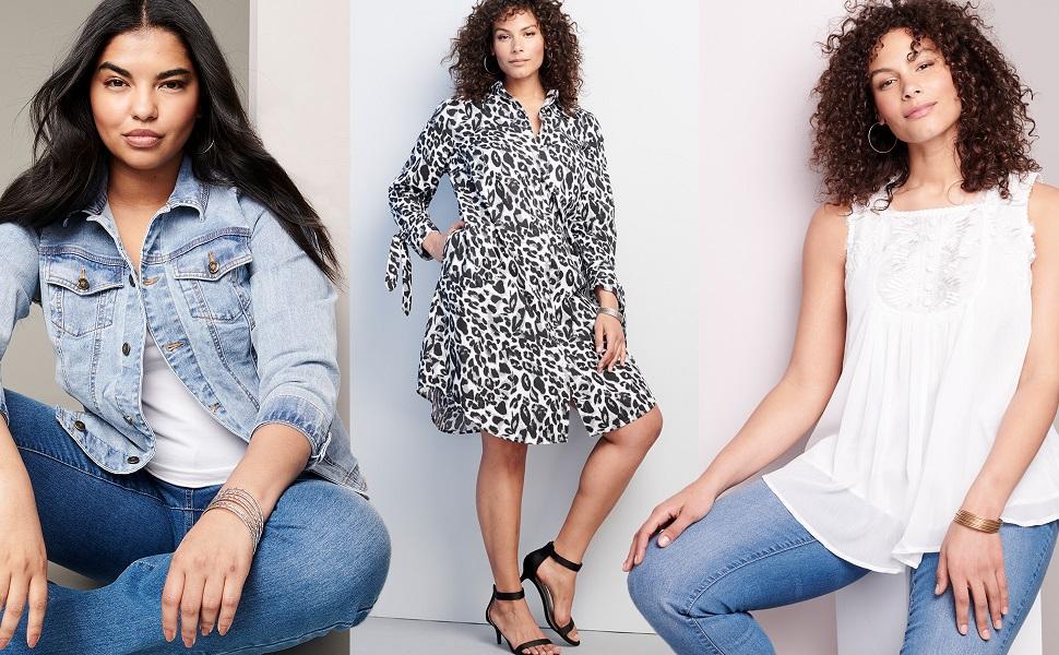 Roamans Plus Size Fashion Sexy Clothin1g Jeans