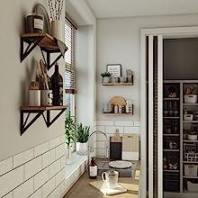 4 shelf wall mounted tall bookshelves command shelf  decorative books for display organizador