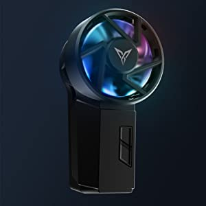 mobile phone cooling fan RGB Magical Light