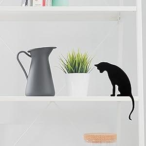Princess Black Cat Decor