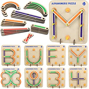 LETTER AND NUMBER LEARNING  SHAPES AND COLORS Construction Activity Set