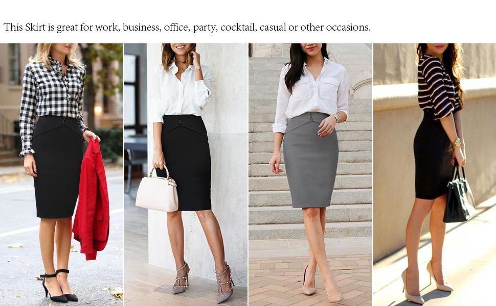 grace karin pencil skirt