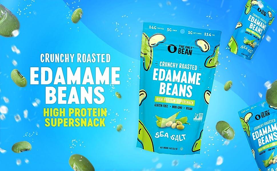 Crunchy Roasted Edamame Beans