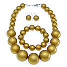 gold pearl choker necklace