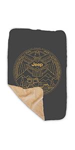 Jeep Eagle Sherpa Blanket