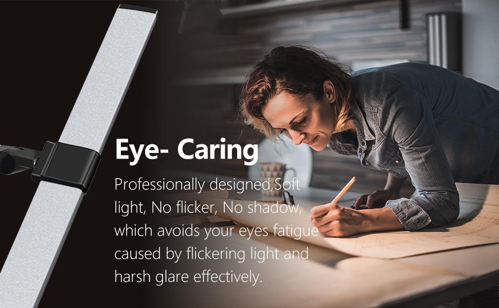 eye care eye protection light soft light no flicker no shadow no blue light