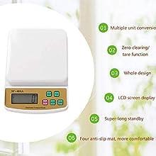 Digital Kitchen scale for multipurpose