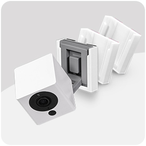 Wall Mount Kit for Wyze Cam V2, VHB Stick On - Easy to Install, No Tools Needed, No Mess