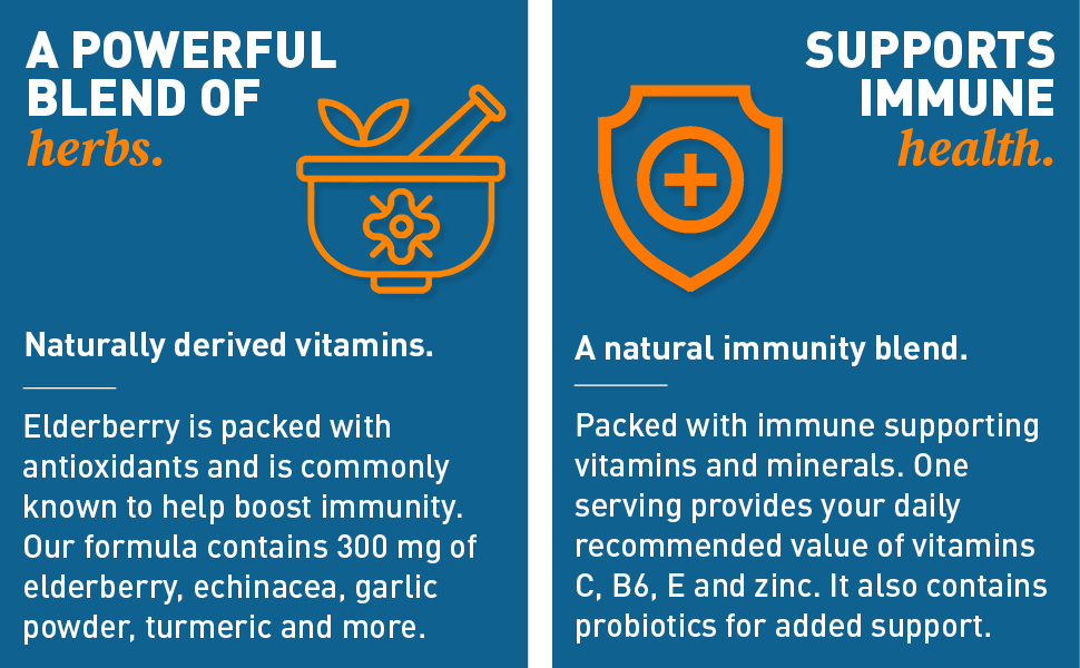 elderberry, immunity, immune, health, system, support, echinacea, turmeric, garlic, natural, defense