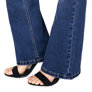bell-bottomed pants