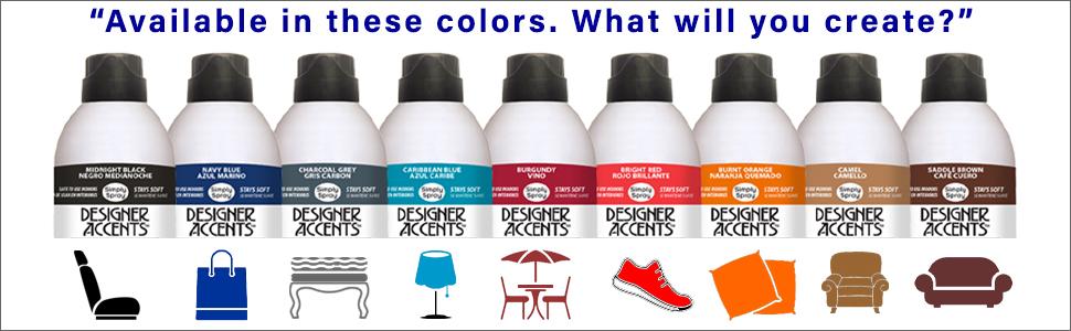 fabric spray dye paint color