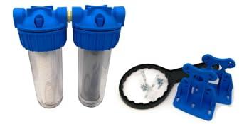 Filtre à eau double