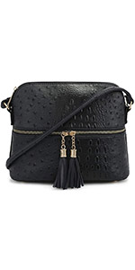 OStrich Dome Crossbody