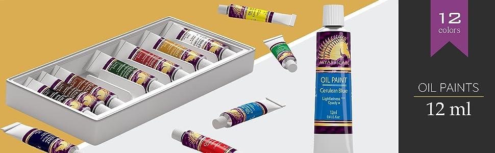 oil paints colors beginner best