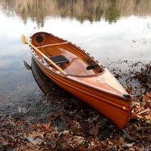 A beautiful strip canoe built with WEST SYSTEM Epoxy by David Wohl.
