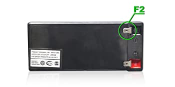Neptune NT-1290 Sealed Lead Acid Rechargeable Replacement Battery