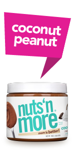Nuts N More - Coconut Peanut Peanut Butter Protein Spread