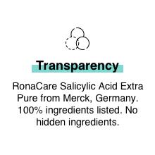 Minimalist Alpha Arbutin Clean Anti Pigmentation Serum with transparent ingredient blemishes spots