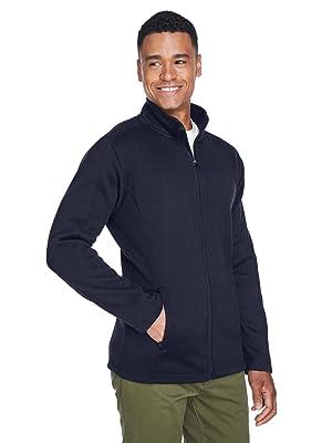 Devon amp; Jones Men's Bristol Full-Zip Sweater Fleece Jacket