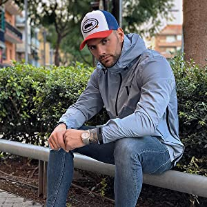 Oblack Gorra Trucker Origins Way Red Roja Beisbol Ajustable con ...