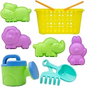 toddler toys beach kids outdoor sand mesh bag fun toddlers sandbox castle building kit summer bucket