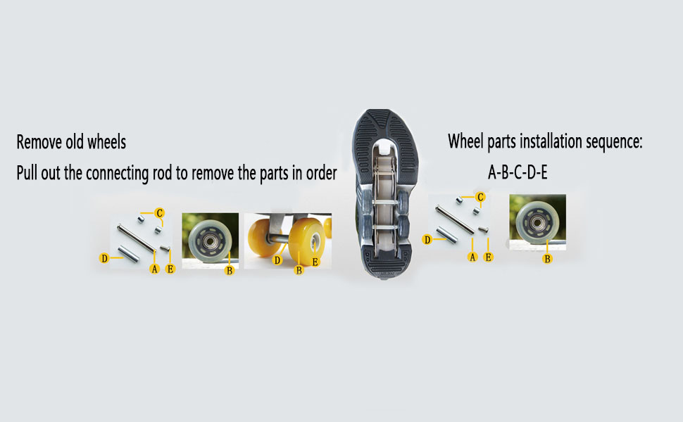 How to replace wheels