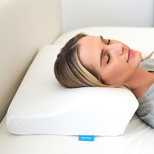 Great for any sleeping position. Back, side or stomach sleepers welcome!