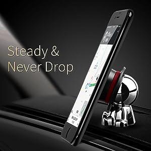 steady & never drop