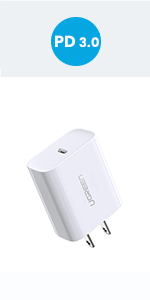 Amazon.com: UGREEN Quick Charge 3.0 Wall Charger 18W USB ...