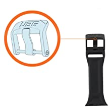 URBAN ARMOR GEAR UAG SILICONE WATCH STRAP STAINLESS STEEL HARDWARE CUSTOM