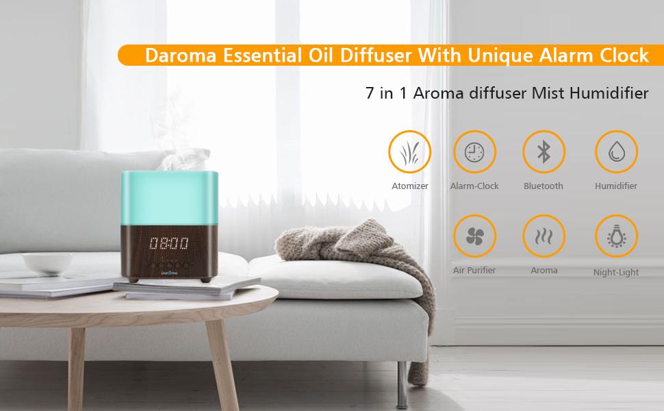 Alarm Diffuser Dark Wood Large Room