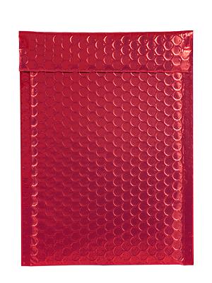 XCGS Red Metallic Bubble Mailer
