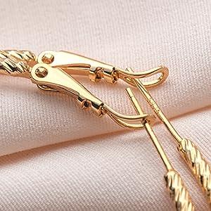 gold cute small stud earrings
