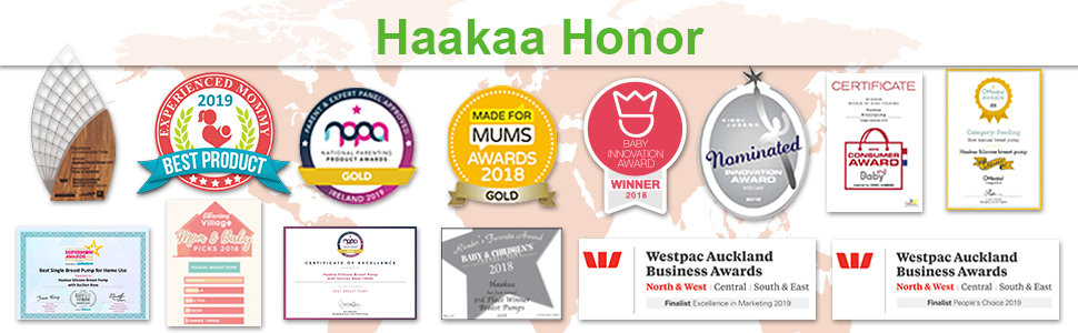 Haakaa Manual Breast Pump Milk Saver 4oz/100ml+Lid
