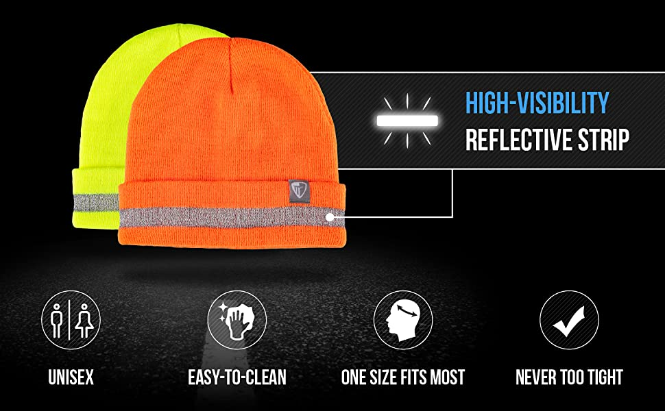 High visibility Reflective Strip, Unisex, easy to clean, one size fits all, never too tight