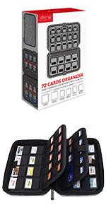 Sisma Estuche de juegos para 64 cartuchos Nintendo 3DS DS 2DS - Funda cartuchos juego - color negro: Amazon.es: Videojuegos
