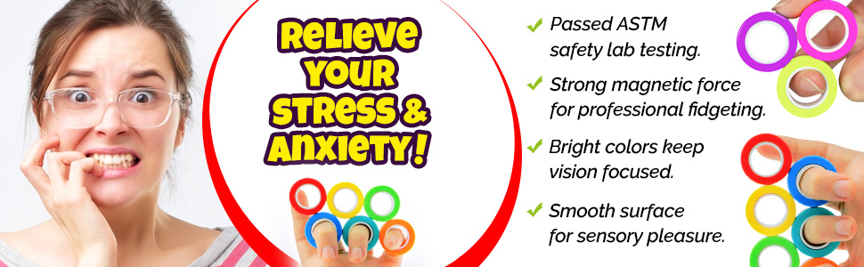 relieve stress roller rings