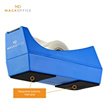 Desk Tape Dispenser with non-skid base with rubber to keep dispenser in place Heavy Duty Tape holder