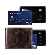 RFID wallet for men mens wallet leather slim bifold