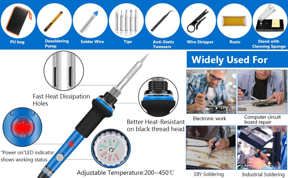 HANDSKIT soldering iron kit