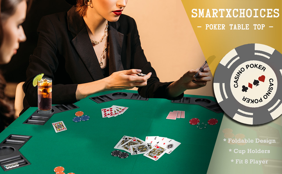 NEW Pro Poker Table Top Green Felt Playing Surface Manufacturer S De Best Selle