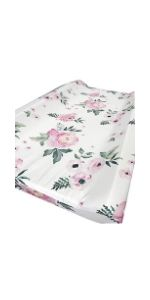 Changing Pad Cover-Pear Pink