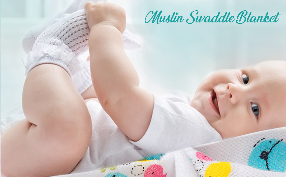 muslin swaddle blanket swaddle 120cm Muslin baby swaddles for new born baby muslin wraps organic