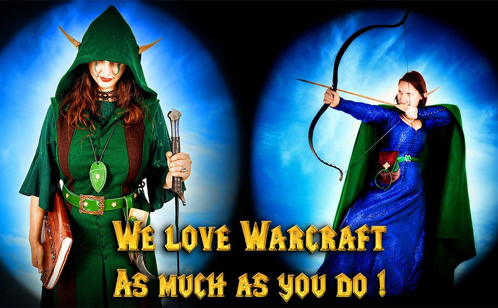 Mythrojan WOW blood elf elves SCA LARP knight medieval renaissance diary notebook journal WARCRAFT