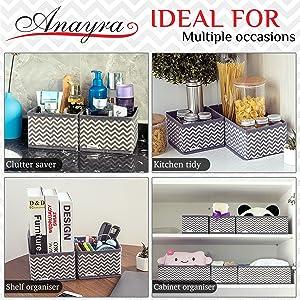 makeup organiser,storage box,storage boxes,wardrobe organiser,underwear organiser,bathroom bin