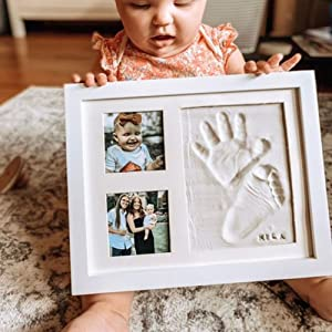 cast molding kid ink craft stand nurseries mother ideas table sonogram idea mess dad canvas xl delux